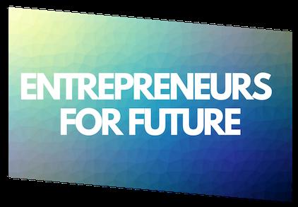 aktiv Teil von #EntrepreneursForFuture werden