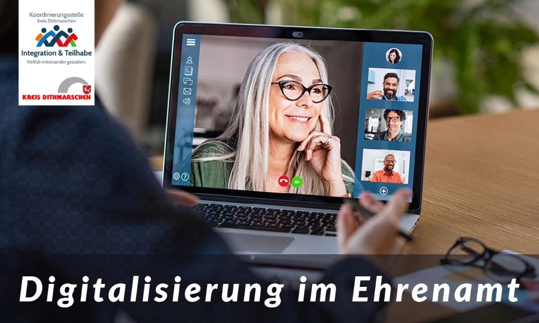 """Neue Webinarreihe im Rahmen des Projektes """"Digitalisierung Dithmarschen"""""""